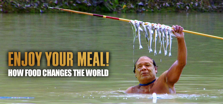 film still from the documentary film Enjoy your meal - how food changes the world on realeyz.tv