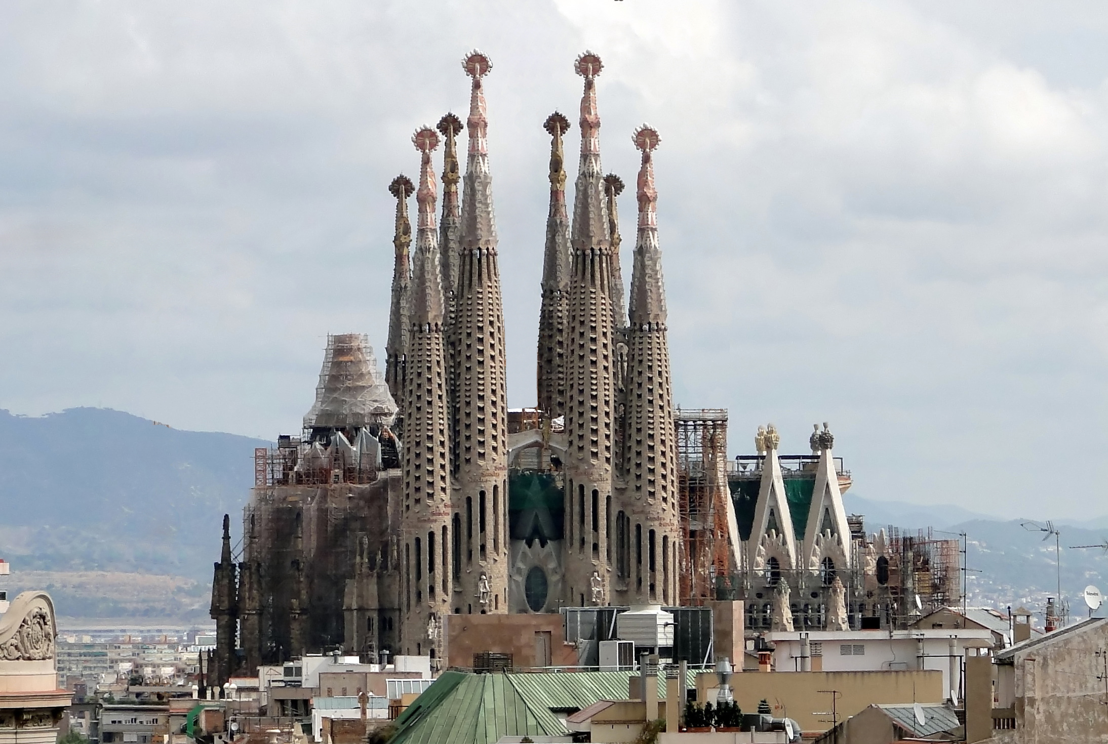 Cathedral by Antoni Gaudi