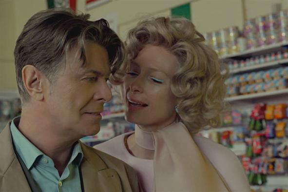 David Bowie Tilda Swinton The Stars Are Out Tonight